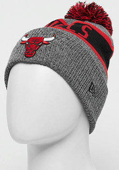 New Era Marl Knit NBA Chicago Bulls grey/official