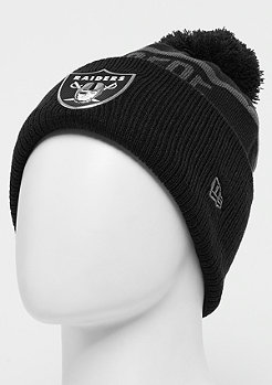New Era Coll Knit NFL Oakland Raiders black