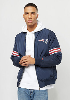New Era Team Apparel Bomber England Patriots oceanside blue