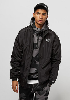 New Era Team Apparel Trk Jacket Oakland Raiders black