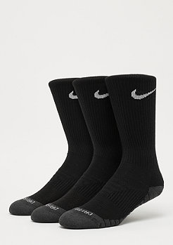 NIKE Dry Cushion Crew Training black/anthracite/white