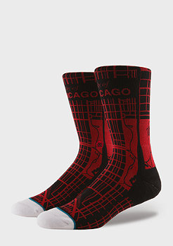 Stance Windy City black/red