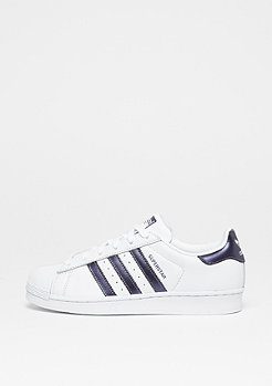 adidas Superstar white/purple night met/white