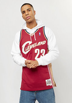 Mitchell & Ness Swingman Lebron James #23 Cleveland Cavaliers red/gold