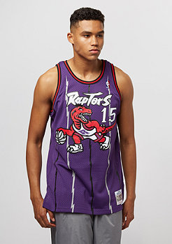 Mitchell & Ness Swingman Vince Carter #15 Toronto Raptors purple/red