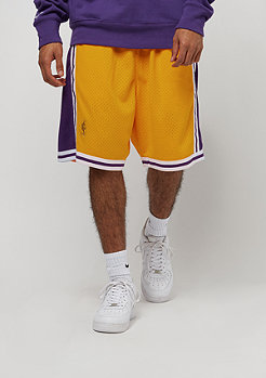 Mitchell & Ness NBA Los Angeles Lakers Swingman Shorts yellow