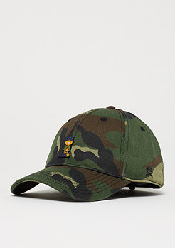 Cayler & Sons WL Merch Garfield Curved Cap woodland/mc