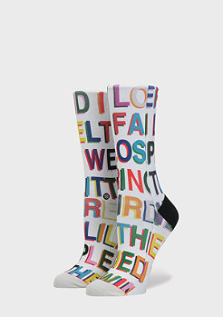 Stance Libertine Love Letters multicolour