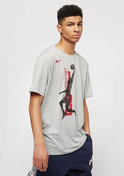 NIKE Basketball NBA Houston Rockets EXP Player dk grey heather