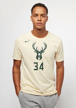 NIKE T-Shirt NBA Milwaukee Bucks Giannis Antetokounmpo Dry flat opal
