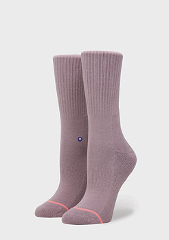 Stance Uncommon Solids Classic Crew lilac ice