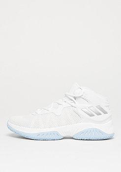 adidas Basketball Explosive Bounce white/silver metallic/solid grey