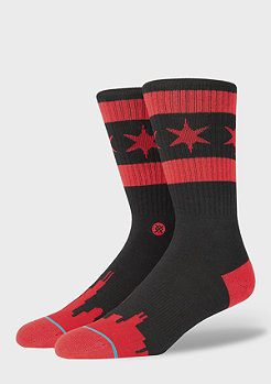 Stance Squad Chicago Skyline Dwyane Wade black/red