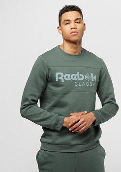Reebok Chalk green avec logo