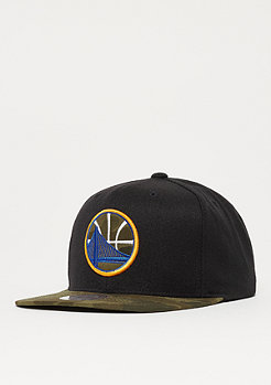 Mitchell & Ness Camo Fill NBA Golden State Warriors black