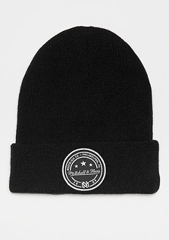 Mitchell & Ness Patch Cuff Knit black