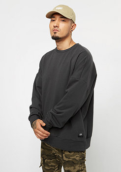 Sixth June Classic Oversize With Dropped Shoulders stone black