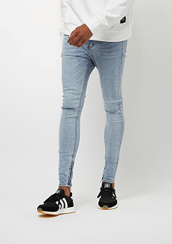 Sixth June Skinny Denim Destroyed blue