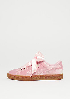 Puma Basket Heart silver pink-gum