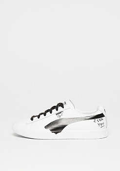 Puma Clyde SM white-black