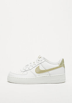 NIKE Air Force 1 (GS) summit white/metalic gold star-summit white