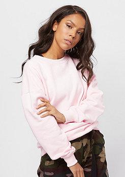 Urban Classics Oversize Crewneck pink