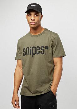 SNIPES Basic Logo olive night
