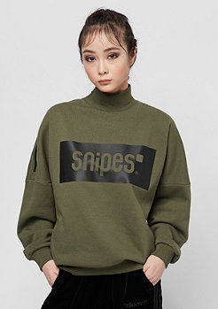 SNIPES Box Logo Highneck olive night