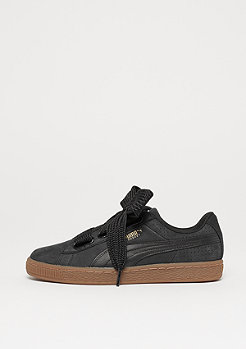 Puma Basket Heart Perf Gum black-white