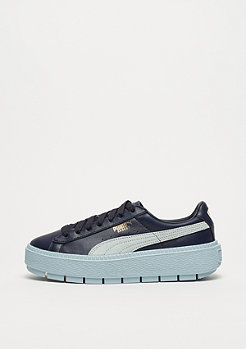 Puma Basket Platform Trace Block night sky-sterling blue-sterling