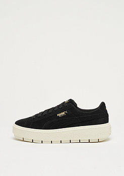 Puma Suede Platform Trace black-marshmallow-team gold