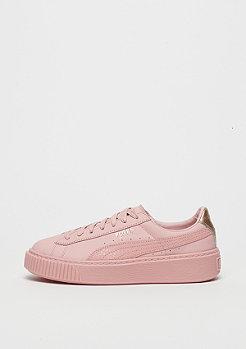 Puma Basket Platform Euphoria silver pink-rose gold