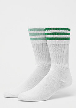 adidas Solid Crew Socks 2er white/green/ash green