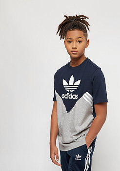 adidas Junior M FL collegiate navy/medium grey heather/white