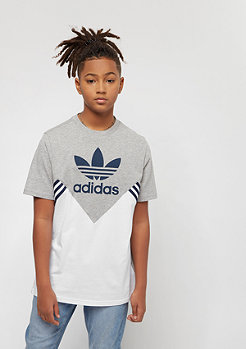 adidas Junior M FL medium grey heather/white/collegiate navy