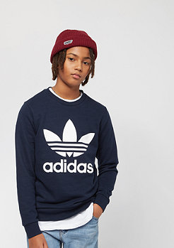 adidas Junior Trefoil Crew collegiate navy/white