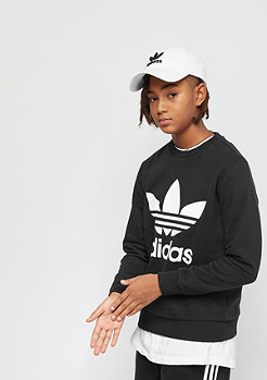 adidas Junior Trefoil Crew black/white