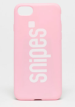 SNIPES Basic Logo Case iPhone7 pink/white