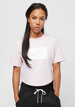 NIKE Crop Swoosh barely rose/white