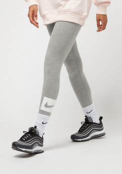 NIKE Club Swoosh dk grey heather/white