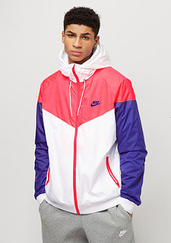 NIKE Windrunner white/hot punch/concord/concord