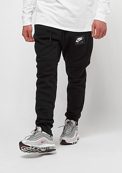 NIKE Air Fleece Jogger black/black/white