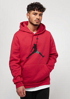 JORDAN Flight Fleece Jumpman Air gym red/black