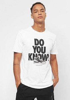 JORDAN AJ3 DO YOU KNOW white/black