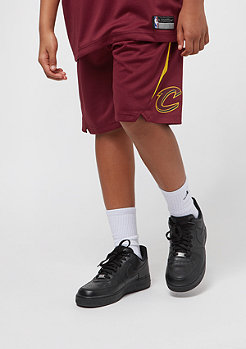 NIKE Junior Cleveland Cavaliers Shorts burgundy