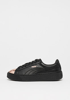 Puma Basket Platform Metallic black rose gold