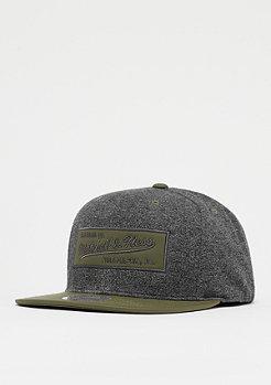 Mitchell & Ness Mélange jersey gris/olive