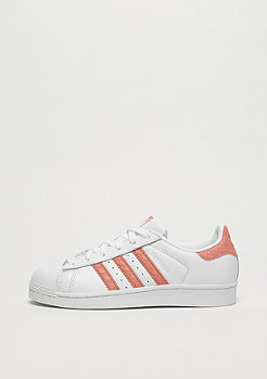 adidas Superstar white/chalk coral/off white