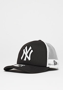 New Era 9Forty Clean Aframe MLB New York Yankees black/white