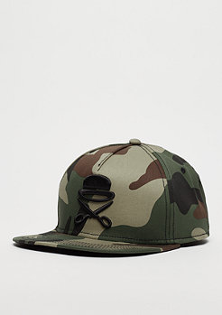 Cayler & Sons C&S PA Icon Cap woodland camo/black